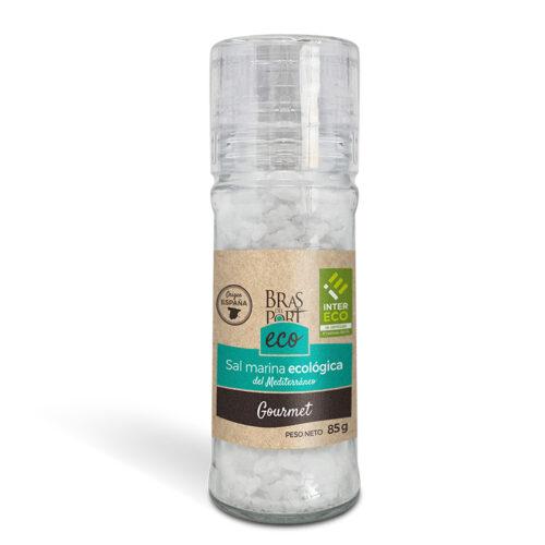 Molinillo de sal marina gruesa ecológica 85 g