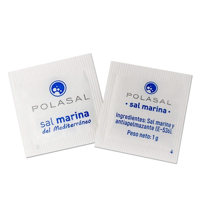 sobres monodosis sal marina fina 1 g